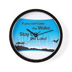 Can't Take the Wake Wall Clock