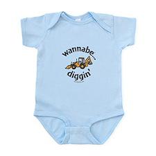 wannabe...diggin' Infant Bodysuit
