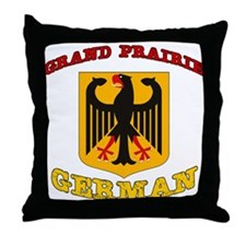 Grand Prairie German Throw Pillow