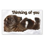 Thinking Of You Rectangle Sticker