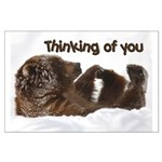 Thinking Of You Large Poster