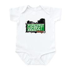 GUERNSEY ST, BROOKLYN, NYC Infant Bodysuit