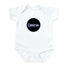 Cameron - Blue Circle Infant Bodysuit