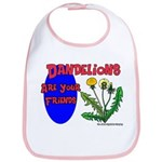Dandelions Are Your Friends Bib