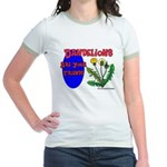 Dandelions Are Your Friends Jr. Ringer T-Shirt