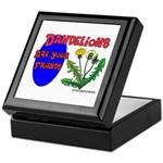 Dandelions Are Your Friends Keepsake Box