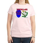 Dandelions Are Your Friends Women's Pink T-Shirt