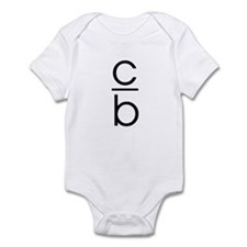 """C Over B"" Infant Bodysuit"