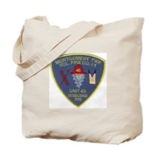Nj fire Tote Bag