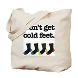 The Knitting Mafia: Cold Feet Tote Bag