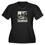 SFPD Mounted Police Women's Plus Size V-Neck Dark