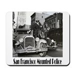 SFPD Mounted Police Mousepad