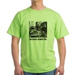 SFPD Mounted Police Green T-Shirt