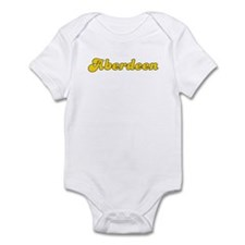 Retro Aberdeen (Gold) Infant Bodysuit