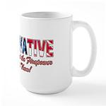 Evil Conservative (American) Large Mug