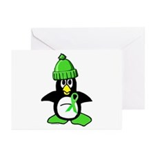 Winter Penguin 1 Non-Hodgkins Lymphoma Greeting Ca