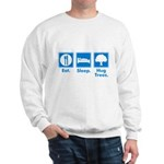 Humorous Tree Hugger Sweatshirt