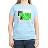 I Wear Lime Green For My Daddy 6 T-Shirt