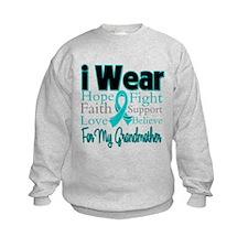 Grandmother Ovarian Cancer Sweatshirt