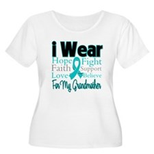 Grandmother Ovarian Cancer T-Shirt