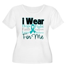 I Wear Teal For Me v3 T-Shirt