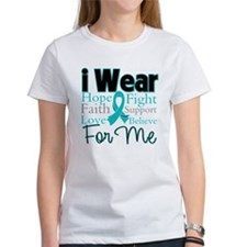 I Wear Teal For Me v3 Tee