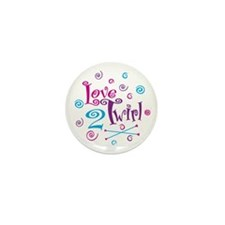 Love 2 Twirl Mini Button (10 pack)