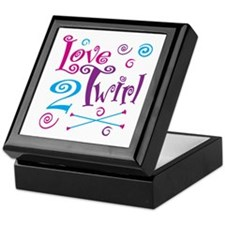 Love 2 Twirl Keepsake Box