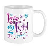 Love 2 Twirl Mug