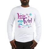 Love 2 Twirl Long Sleeve T-Shirt