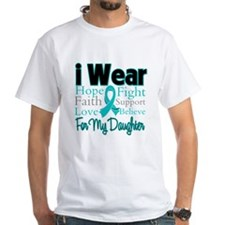 I Wear Teal Daughter Shirt