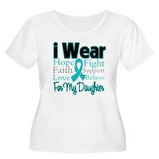 I Wear Teal Daughter T-Shirt