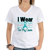 I Wear Teal Cousin v1 Shirt