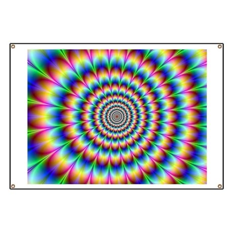 Optical Illusion Banner