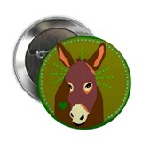 Donkey 2.25&quot; Button (10 pack)