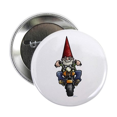 "Easy Ridin' Gnome 2.25"" Button"