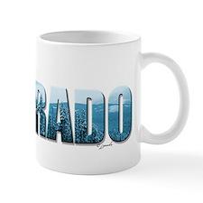 rather be in Colorado (blue) Mug