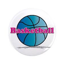 "Basketball PkBl 3.5"" Button"