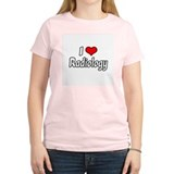 """I Love Radiology"" T-Shirt"