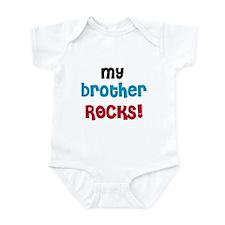 My Brother Rocks Infant Bodysuit
