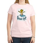 Dead Eye Cowboy  Women's Pink T-Shirt