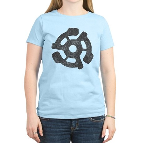 Vintage 45 RPM Womens Light T-Shirt