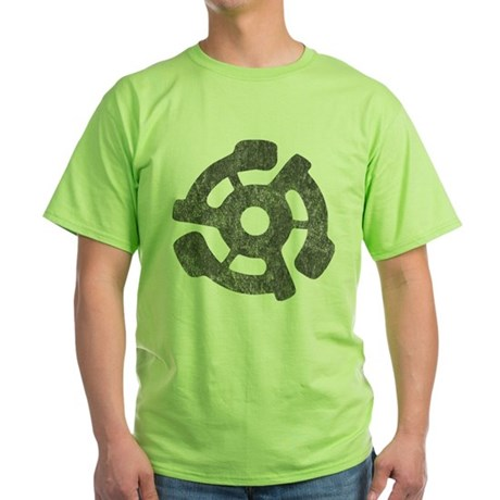 Vintage 45 RPM Green T-Shirt