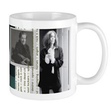 Patti Smith Small Mugs