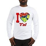 I Love Tal Long Sleeve T-Shirt