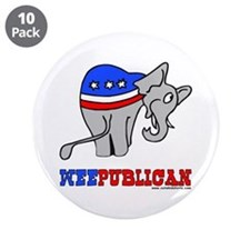 "Weepublican 3.5"" Button (10 pack)"
