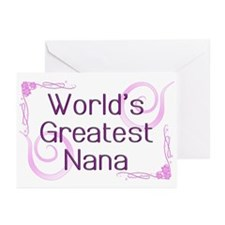 World's Greatest Nana Greeting Cards (Pk of 20)
