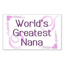 World's Greatest Nana Decal