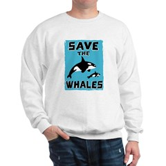 Save the Whales Sweatshirt