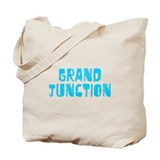 Grand Junction Faded (Blue) Tote Bag